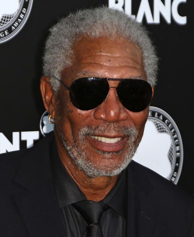 Morgan Freeman Photograph
