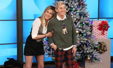 Jennifer Aniston and Ellen DeGeneres in a Photo