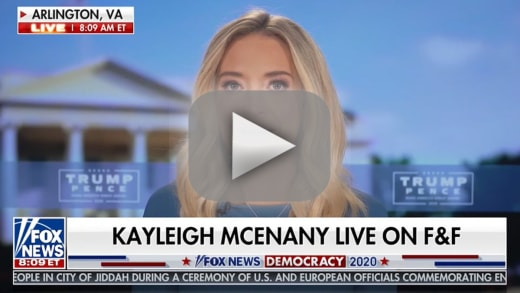White house press secretary kayleigh mcenany hilariously dodges