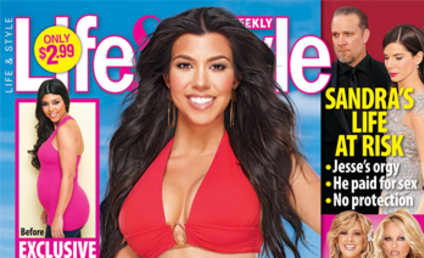 Kourtney Kardashian Gets Her Bikini Body Back... Again!