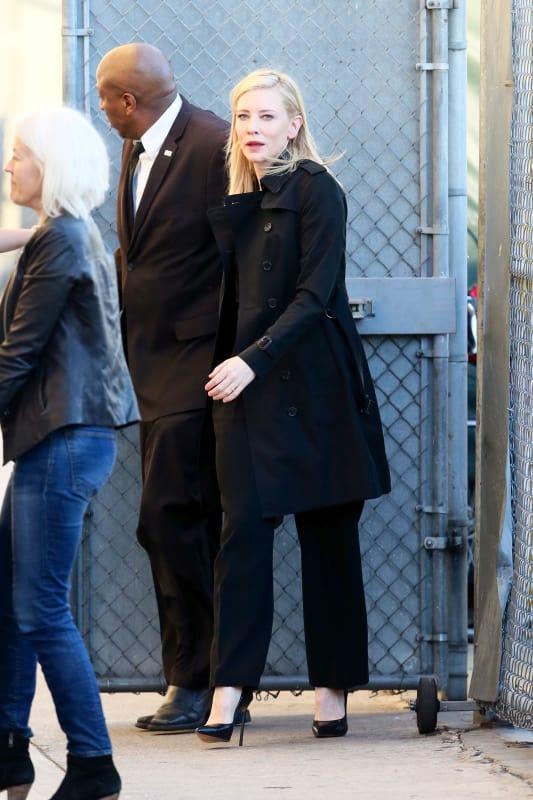 Cate Blanchett Tapes Jimmy Kimmel Live!