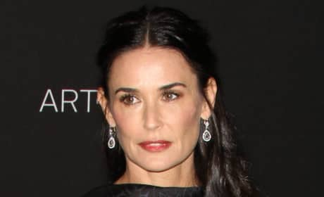 Demi Moore Red Carpet Image