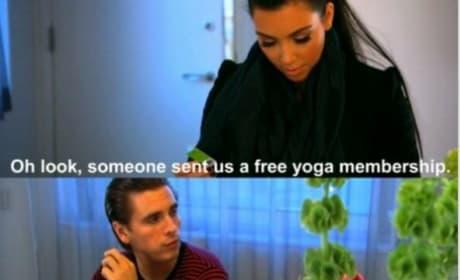 Scott Disick Disses Kim Kardashian
