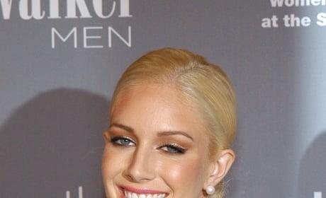 Heidi Montag Slicked Hair