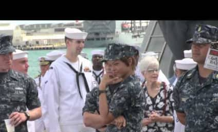 "Rihanna Goes Behind the Scenes of ""Battleship"""