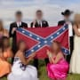 Confederate Flag Prom Photo