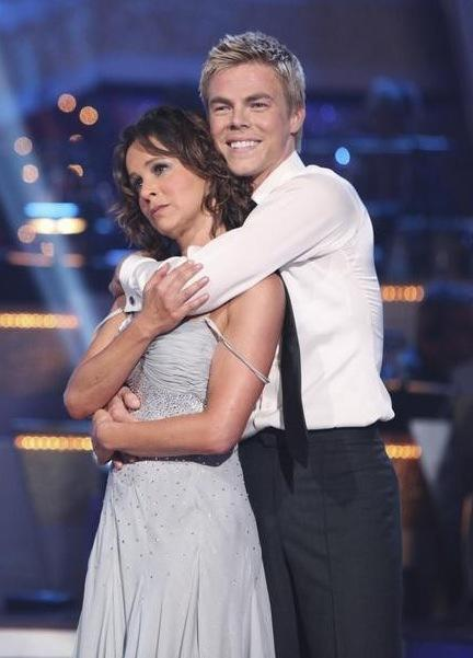 Derek Hough and Jennifer Grey Photo