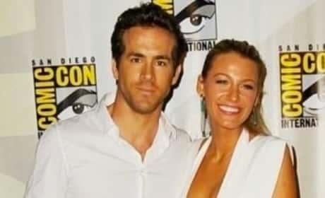 Ryan Reynolds and Blake Lively Photo