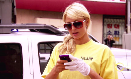 Paris Hilton Reality Show Still