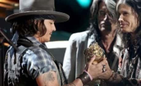 The Black Keys - Gold on the Ceiling (Ft. Johnny Depp)