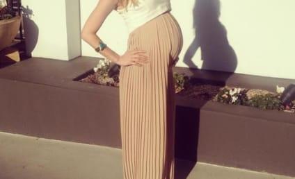 Kristin Cavallari Baby Bump Photo: Crop Top Over a Dress While Pregnant!?