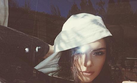 Kendall Jenner in White