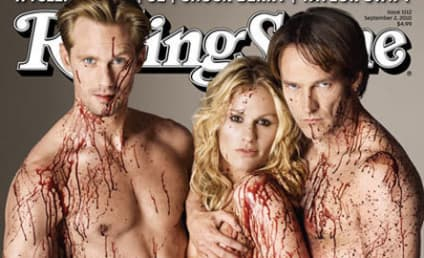 True Blood Stars Get Naked, Bloody, Cover Rolling Stone