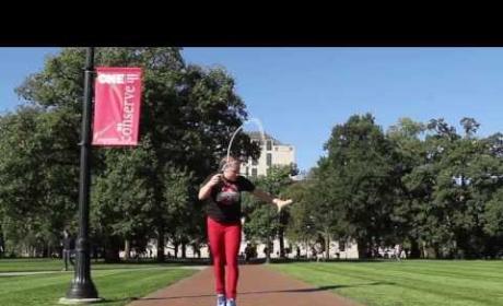 Tori Boggs Jumps Rope: Amazing!
