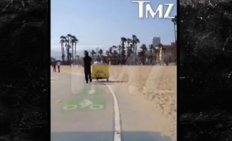 Yovanna Ventura: Biking with Justin Bieber!