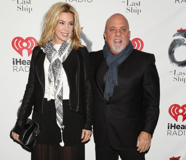 Alexis Roderick and Billy Joel Photo