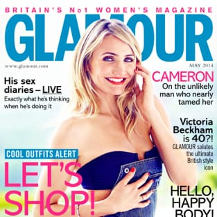 Cameron Diaz Glamour Cover