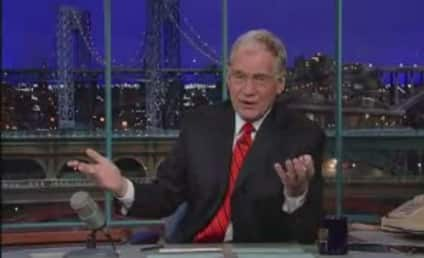 David Letterman on Lindsay Lohan Debacle: Sorry?