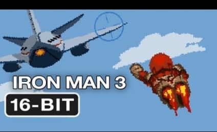Iron Man 3: In 16-Bit Video Game Form!