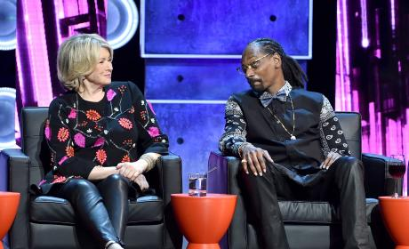Martha Stewart Snoop Dogg Pic