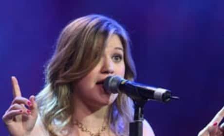 Kelly Clarkson is ...