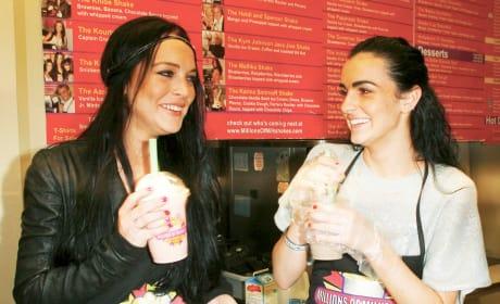 Lindsay Lohan and Ali Lohan Pic