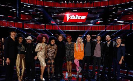 The Voice Top Twelve