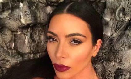 Kim Kardashian on Kontroversial Pregnancy Komment: Just Kidding!!!