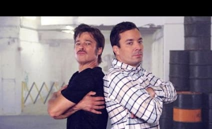 Brad Pitt and Jimmy Fallon Hold Breakdance Conversation, Shock Us with Their Movies