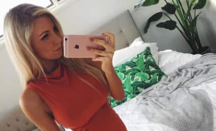 Hannah Polites: Pregnant Model's Toned Abs Outrage Internet