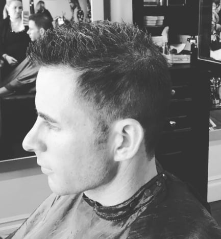 Tarek El Moussa Haircut Photo