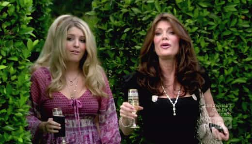 Pandora and Lisa Vanderpump