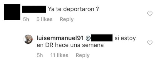 Luis Mendez talks deportation on IG 01