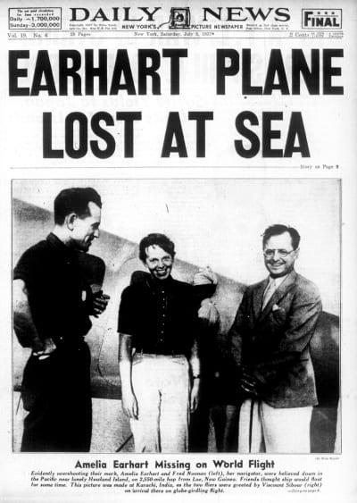 Earhart Newspaper