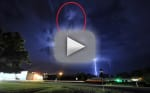 Michael Jackson Lightning Storm Footage: Is that the King of Pop?!?