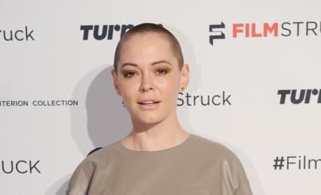 Rose McGowan with Short Hair