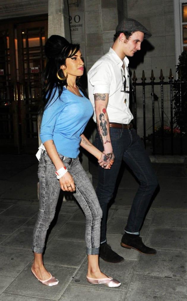Amy and Blake Back On