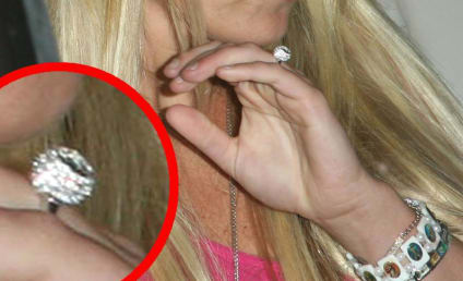 Is Britney Spears Wearing an Engagement Ring?