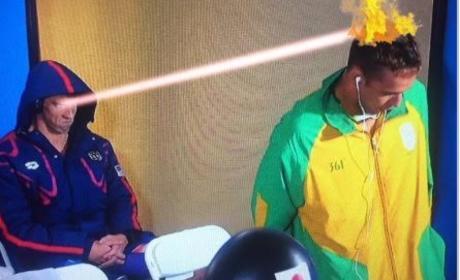 Michael Phelps Death Stare