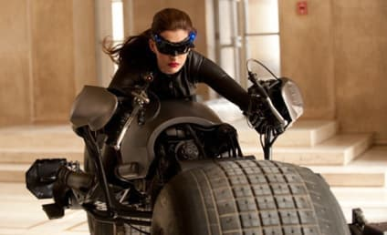 Anne Hathaway as Catwoman: First Look!