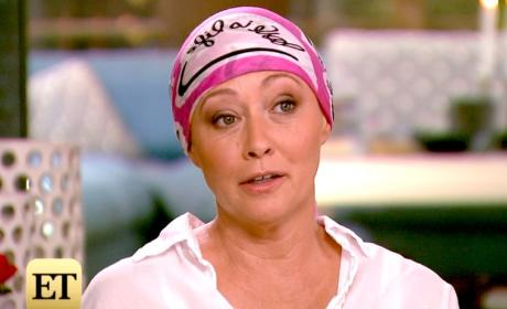 Shannen Doherty on Entertainment Tonight