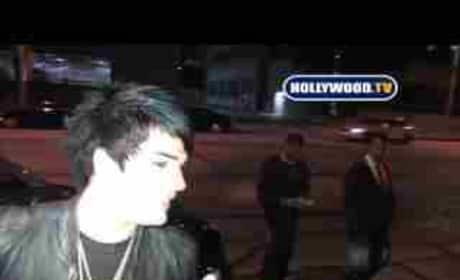 Adam Lambert and Drake LaBry: Clubbing!