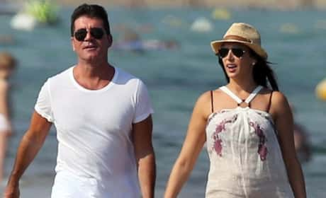 Simon Cowell and Lauren Silverman Go Public