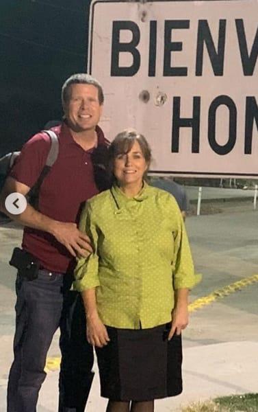 Jim Bob and Michelle Duggar in Honduras
