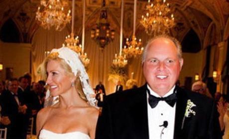 Rush Limbaugh Wedding Photo
