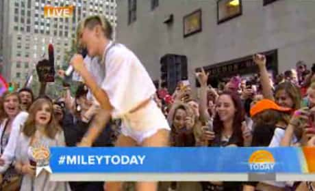 """Miley Cyrus """"We Can't Stop"""" (Today)"""