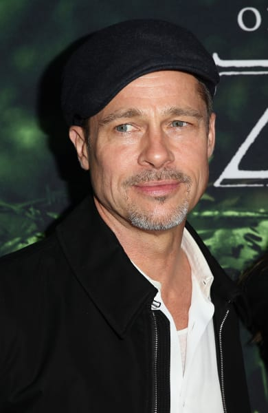 Brad Pitt at Lost City Premiere