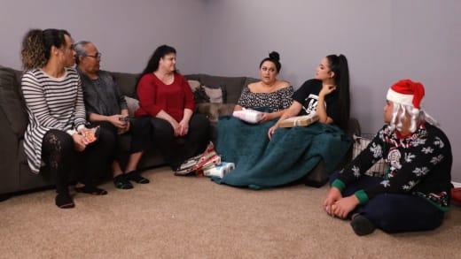 Kalani Faagata and Asuelu Pulaa and a Family Meeting