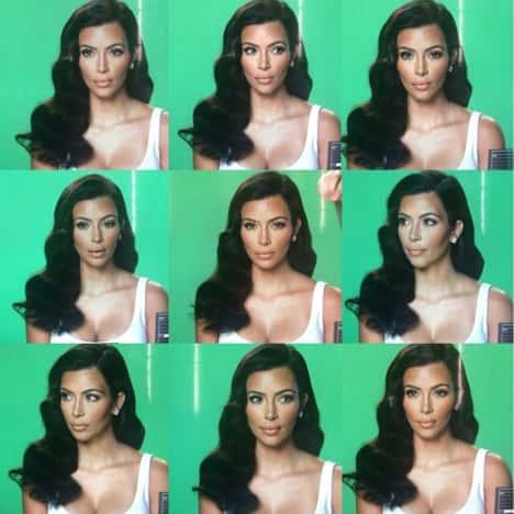 Kim Kardashian and Her Moods