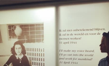 Beyonce Remembers Anne Frank